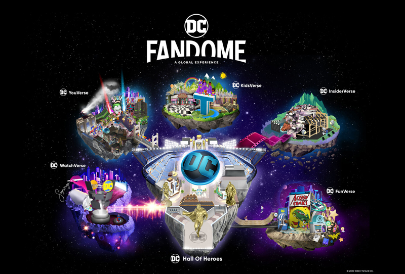 DC FanDome: Virtual Event to Feature Justice League, WW84 & More