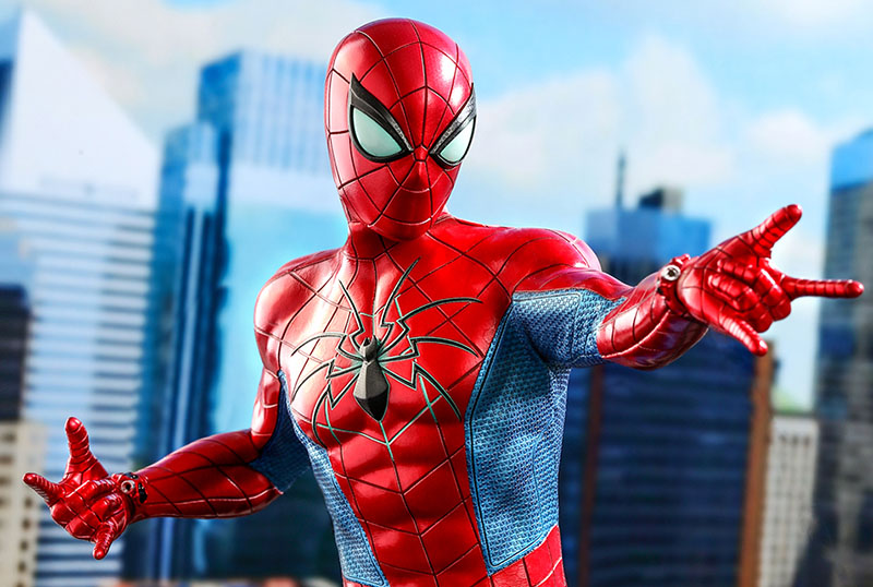 Hot Toys Unveils MK IV Suit Figure From Marvel's Spider-Man!