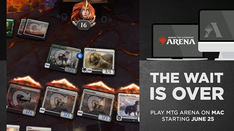 Magic: The Gathering Arena Coming to Mac This Month