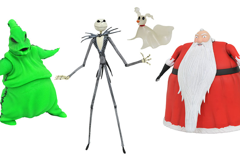 Diamond Select Unveils Nightmare Before Christmas SDCC Collection!
