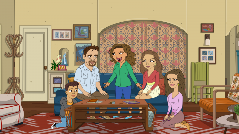 One Day at a Time Animated Special First Look Clip