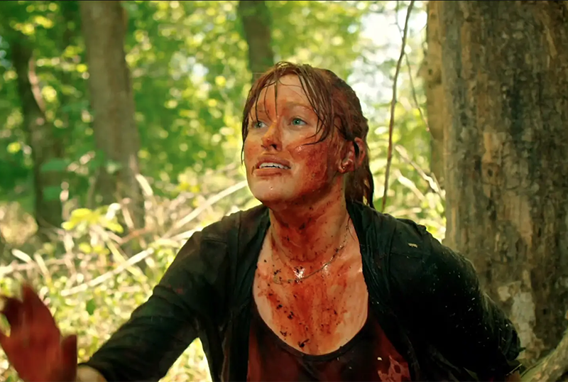 Scare Package Clip: It's a Bloody Day in These Woods