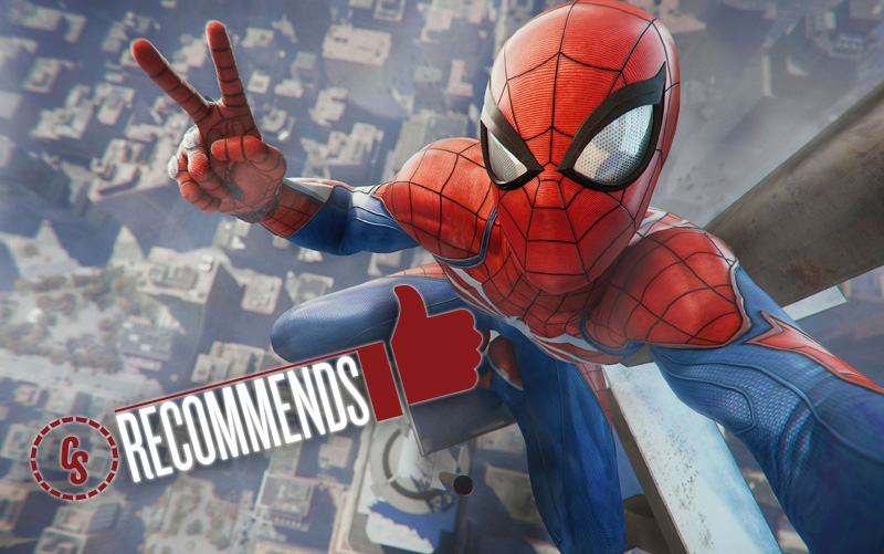 CS Recommends: Marvel's Spider-Man, Plus Horror, Comedy & More!