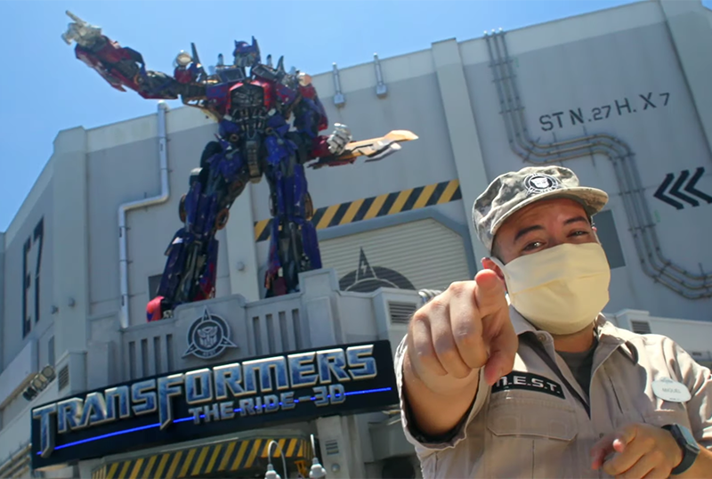 Universal Orlando Unveils Reopening Plans in Video