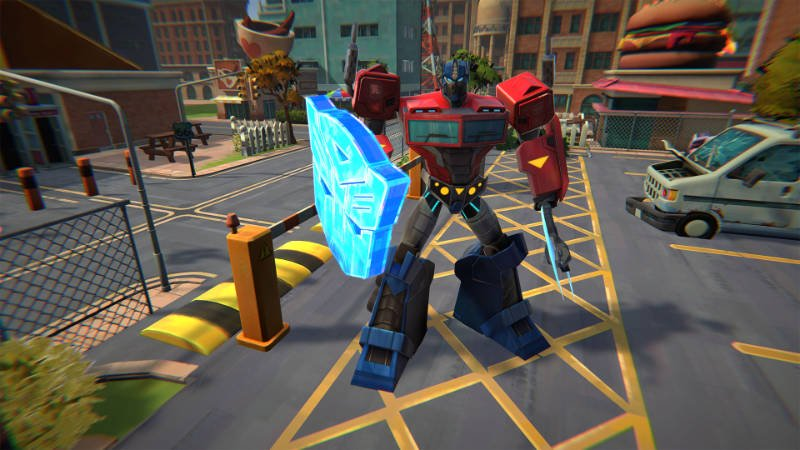 Transformers: Battlegrounds Game Arriving This October