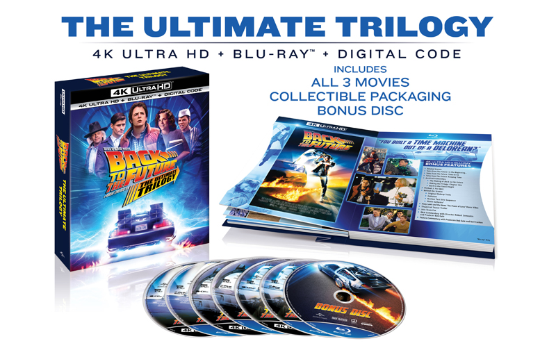 Back to the Future Trilogy 4K Coming in October!