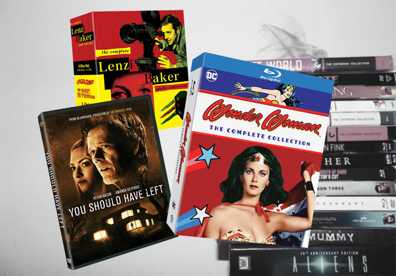 July 28 Blu-ray, Digital and DVD Releases