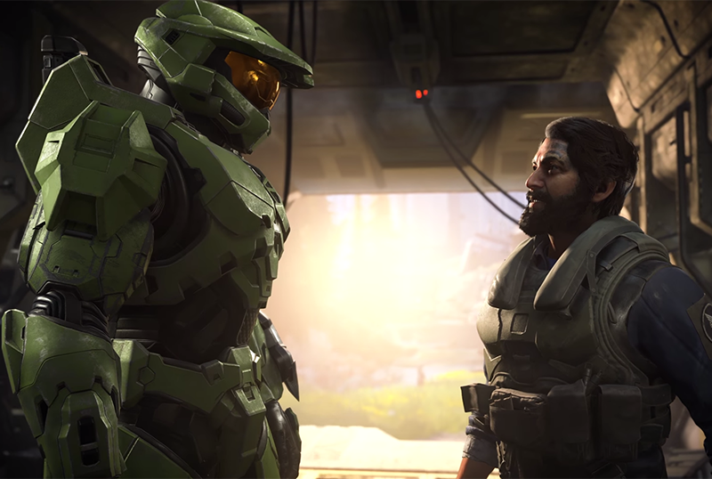 Halo Infinite Campaign Gameplay Unveiled at XBOX Games Showcase