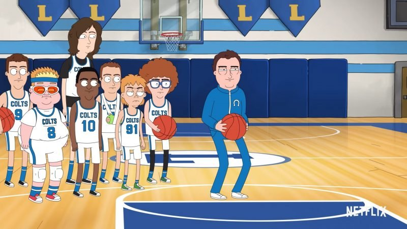 Hoops Teaser Previews Netflix's Jake Johnson-Led Animated Series