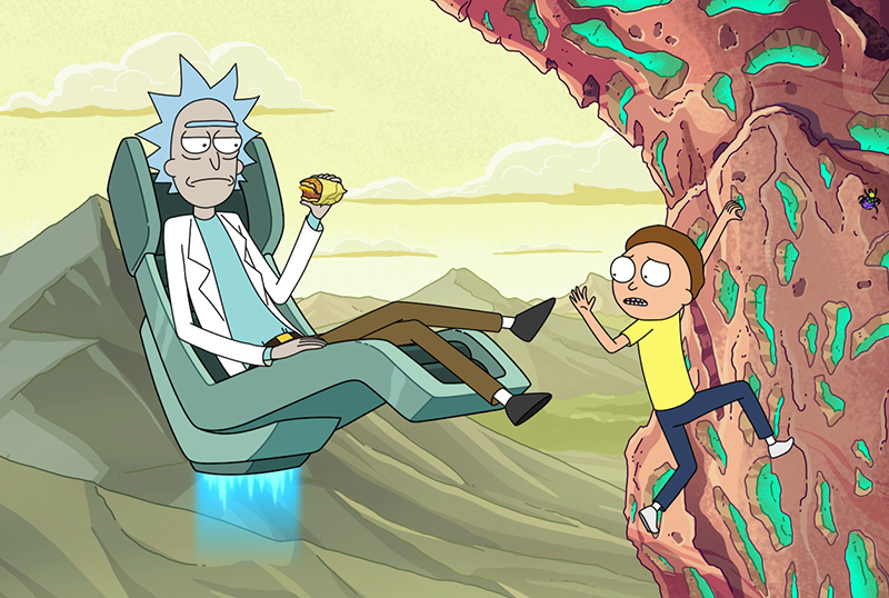 Rick and Morty Season 5 First-Look Clip Revealed at Virtual Adult Swim Con!
