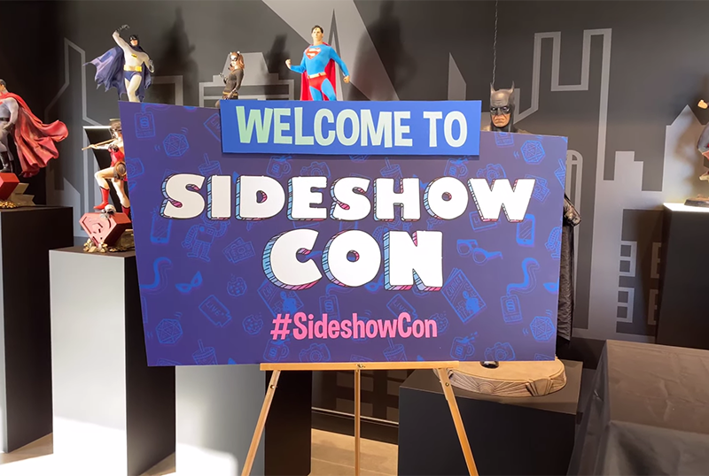 Sideshow Con Day 1 Reveals & Booth Tour