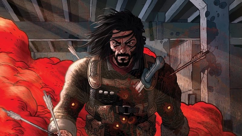 BRZRKR: Keanu Reeves to Write First Action Comic Book From Boom! Studios