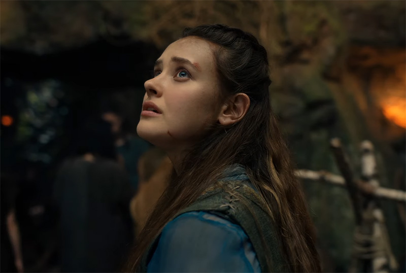 Katherine Langford's 'I Could Be Your King' Lyric Video for Netflix's Cursed