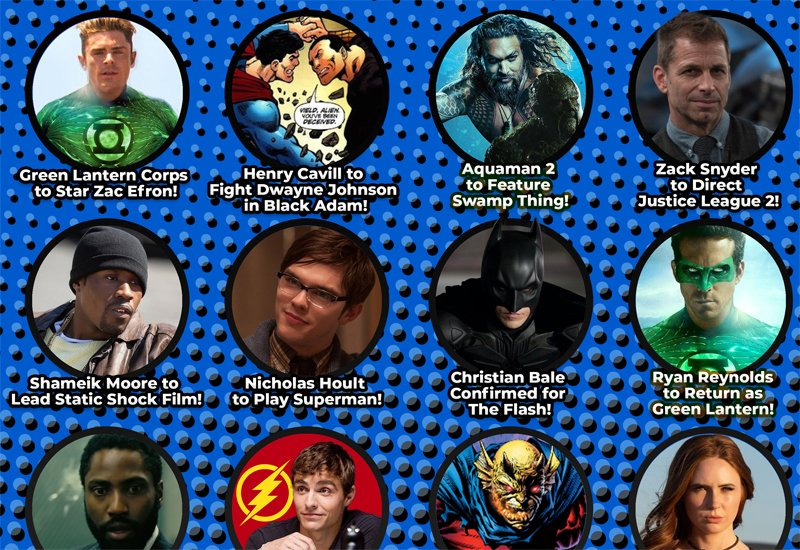 Play Our DC FanDome Bingo Cards This Saturday!