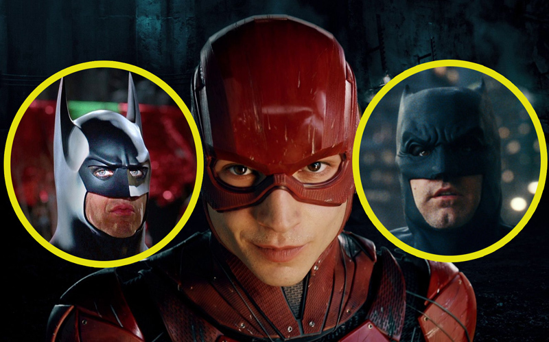 BREAKING: Ben Affleck and Michael Keaton Both Confirmed for The Flash!