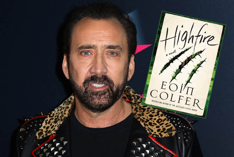 Nicolas Cage to Produce & Star in Amazon's Highfire Series Adaptation