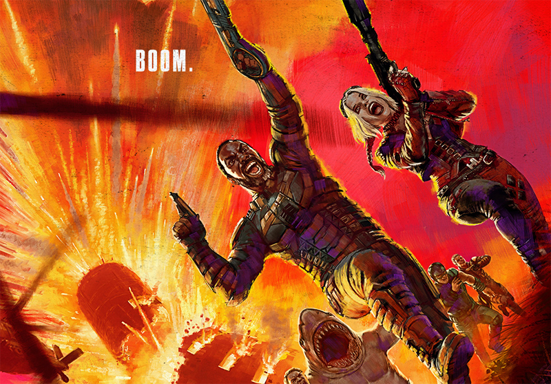 DC FanDome: The Suicide Squad Gets Explosive First Posters!