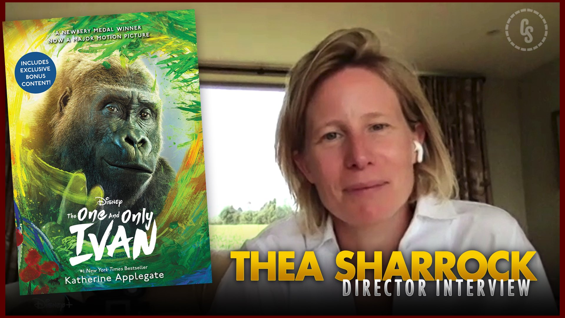 CS Video: The One and Only Ivan Interview With Director Thea Sharrock