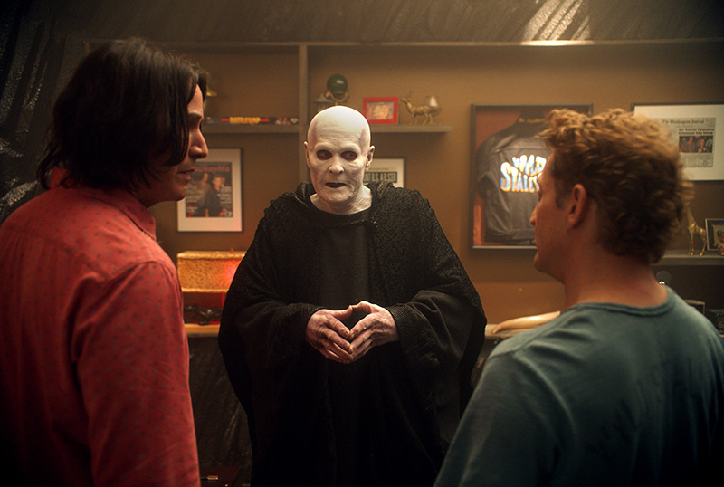 Bill & Ted Reunite With Death in New Clip From Face the Music