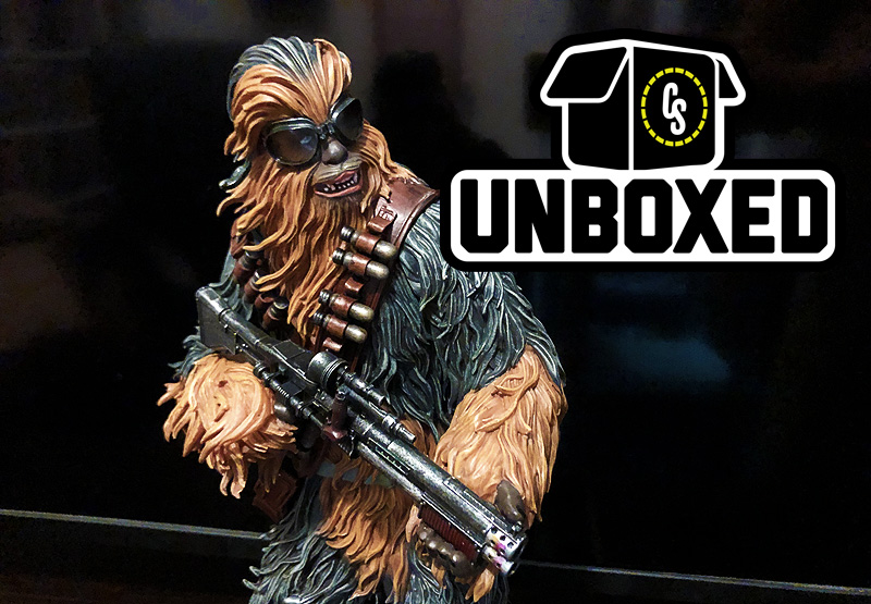 CS Unboxed: Diamond Select's Chewbacca Statue From Solo