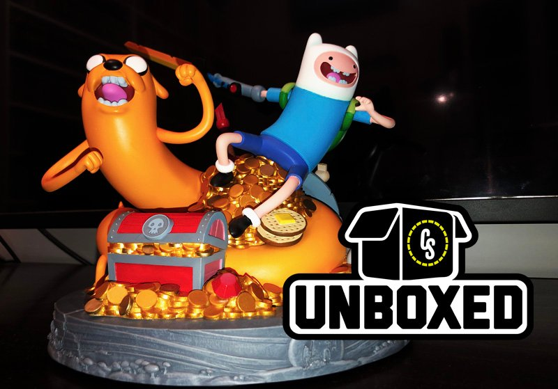 CS Unboxed: Adventure Time Statue of Jake and Finn From Mondo