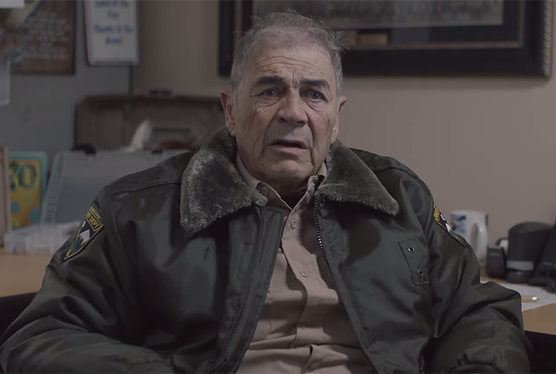 Robert Forster Reflects on the Job in Wolf of Snow Hollow Clip