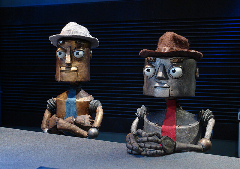 Exclusive: Bill & Ted's Ed Solomon Talks Stop Motion Film Automatons!