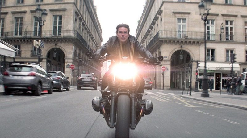 Mission: Impossible 7 Resumes Production with Motorcycle Stunt Set Video