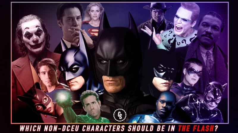 POLL: Which Non-DCEU Movie Characters Should Be in The Flash?