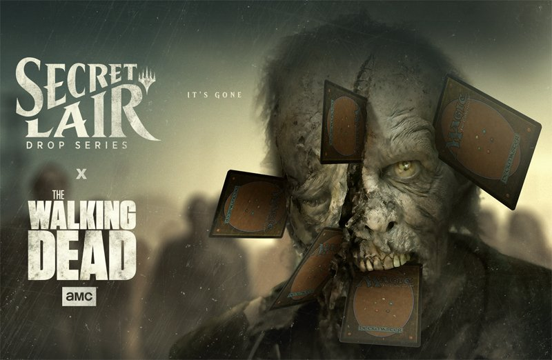 First Look: The Walking Dead Coming to Magic the Gathering