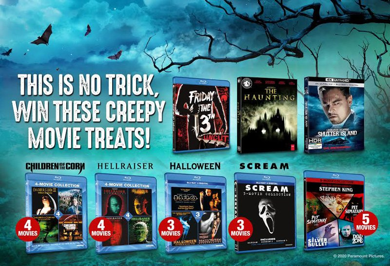 Enter ComingSoon's Halloween Horror Movie Giveaway from Paramount!