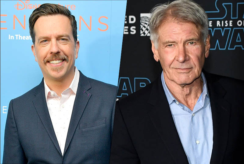 Ed Helms & Harrison Ford Team for Sea-Faring Comedy at STX