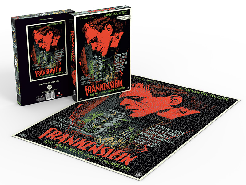 Exclusive: Mondo Releasing Four Killer Universal Monsters Puzzles!