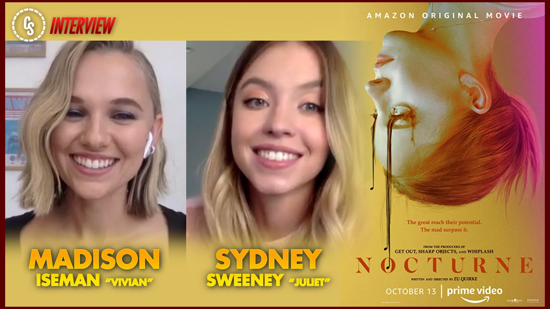 CS Video: Madison Iseman & Sydney Sweeney on Welcome to the Blumhouse's Nocturne