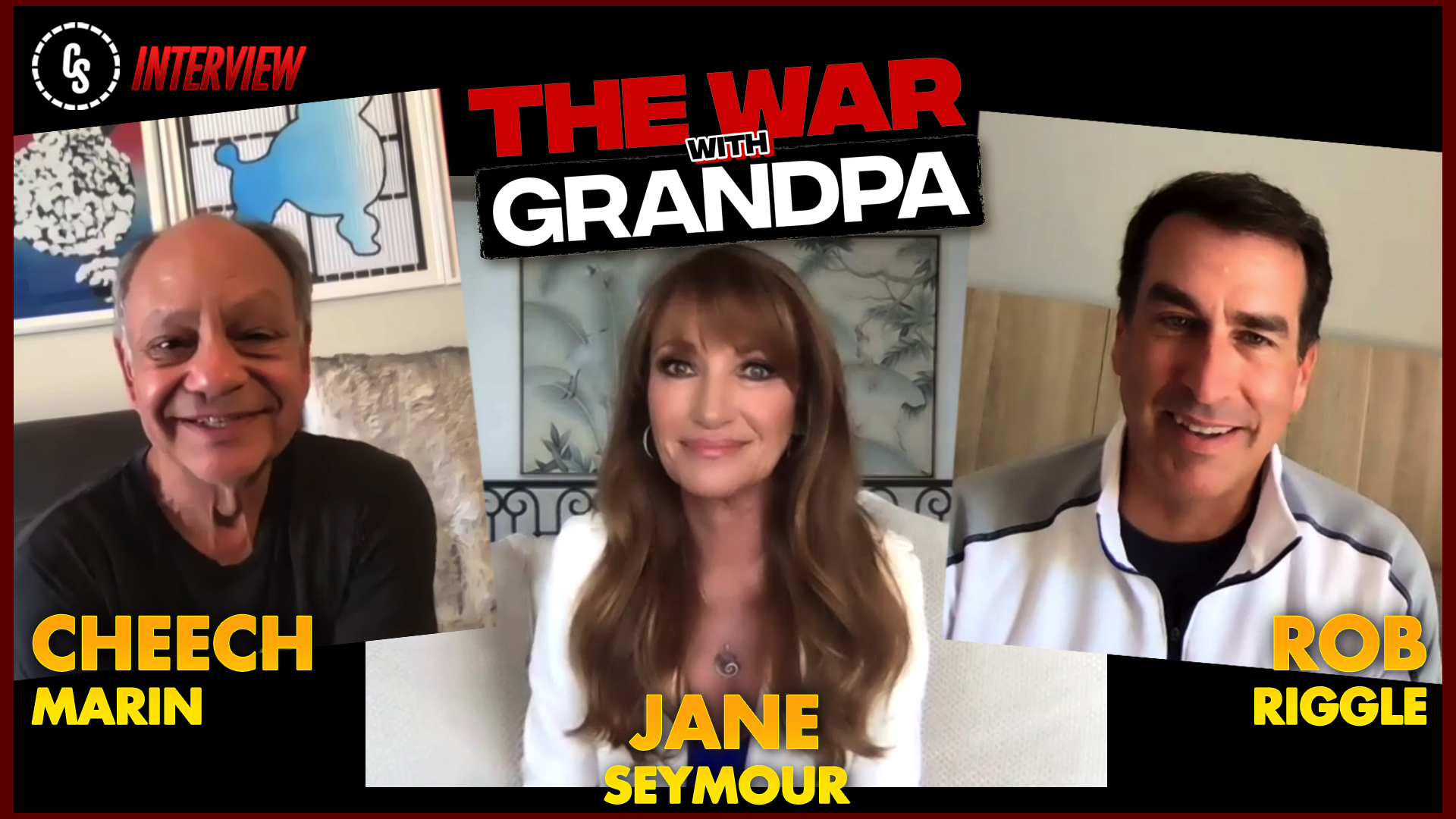 CS Video: The War With Grandpa Interviews With Seymour, Marin & Riggle