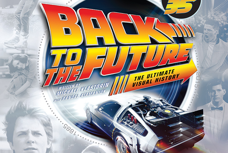 Exclusive Spreads for Back to the Future: The Ultimate Visual History - Revised And Expanded Edition