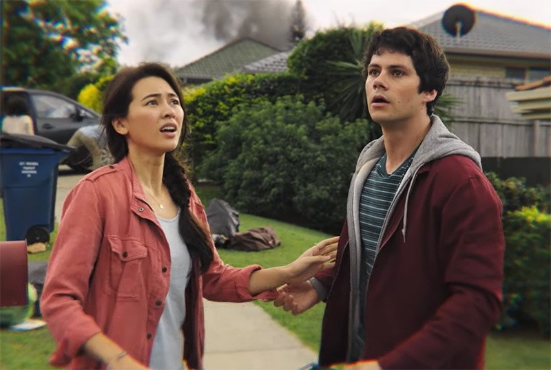 Exclusive Love and Monsters Clip Featuring Dylan O'Brien & Jessica Henwick