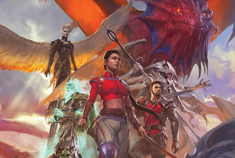 Exclusive Spreads for Magic: The Gathering: Legends: A Visual History