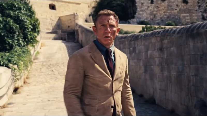 Daniel Craig Takes a Leap of Faith in New No Time to Die Clip