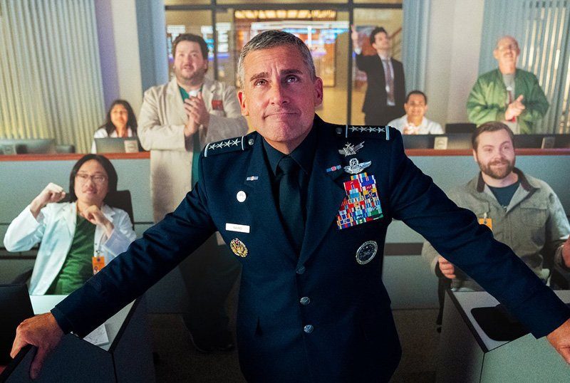 Steve Carell's Space Force blasting off for second season on Netflix