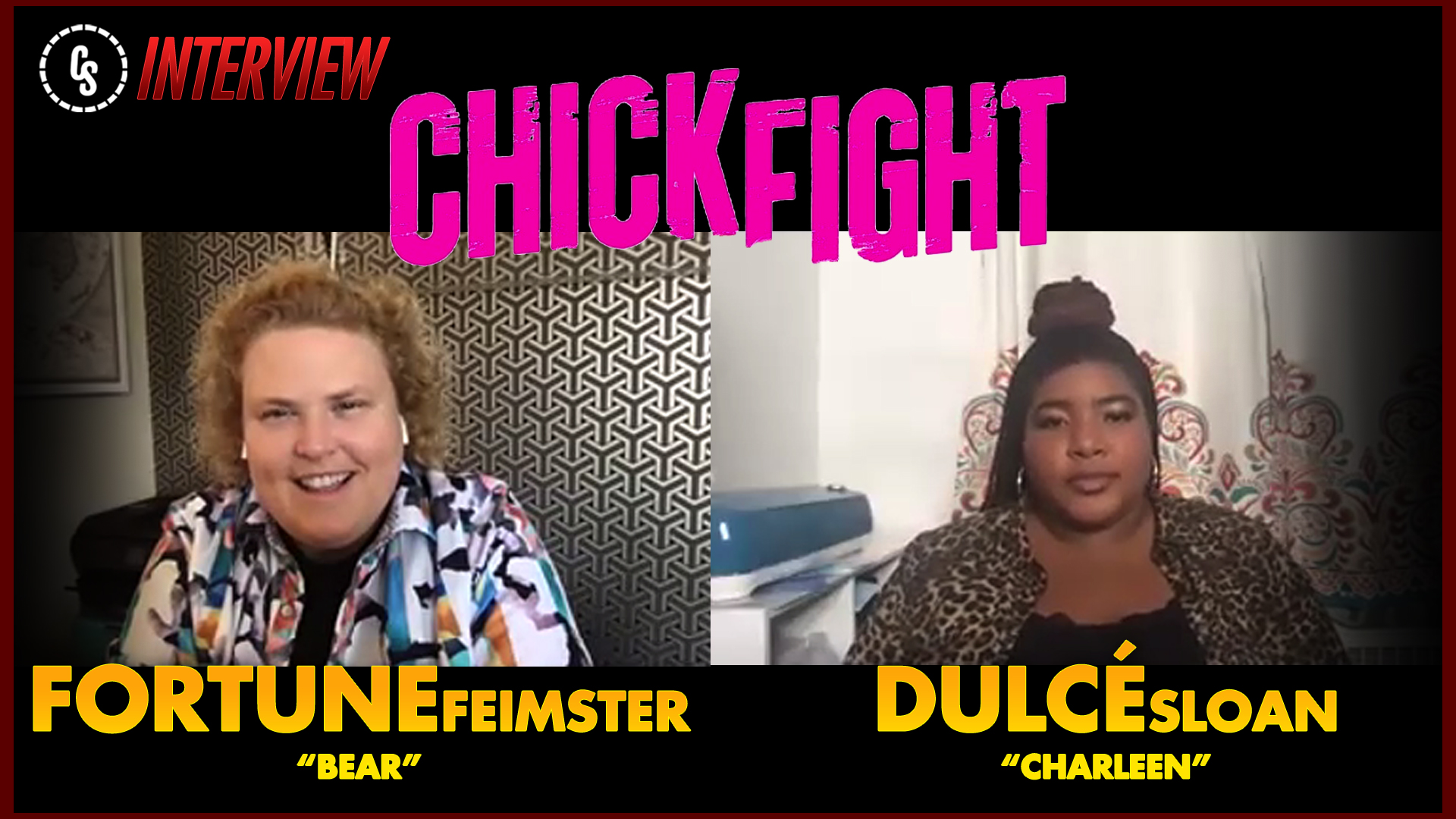 CS Video: Fortune Feimster & Dulcé Sloan on Chick Fight