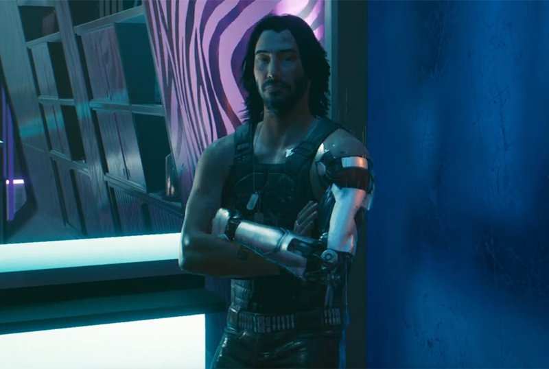 Behind The Scenes of CYBERPUNK 2077 With Keanu Reeves