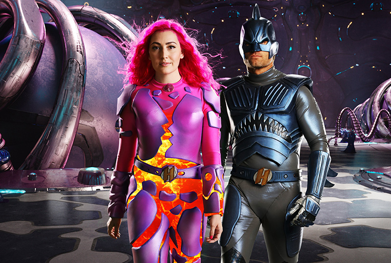 Sharkboy and Lavagirl Return in New We Can Be Heroes Photos
