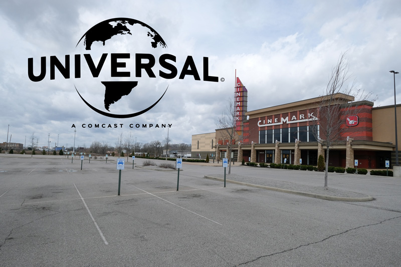 Universal Pictures & Cinemark Theaters Reach Release Window Agreement