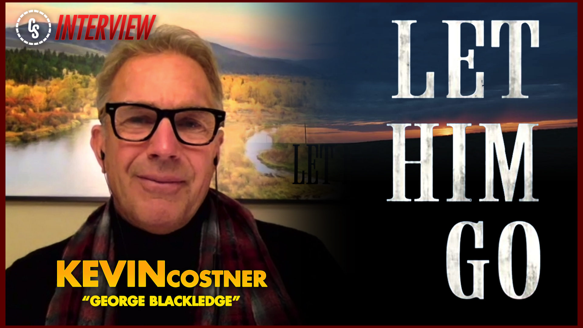 CS Video: Let Him Go Interview With Star Kevin Costner