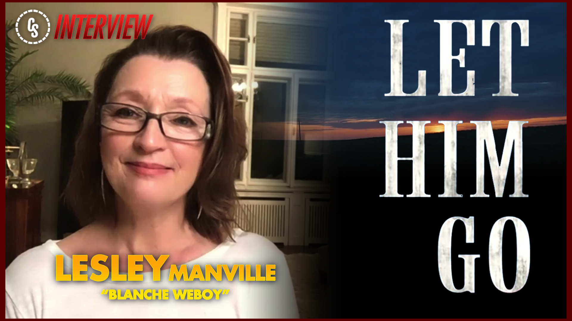 CS Video: Let Him Go Interview With Star Lesley Manville