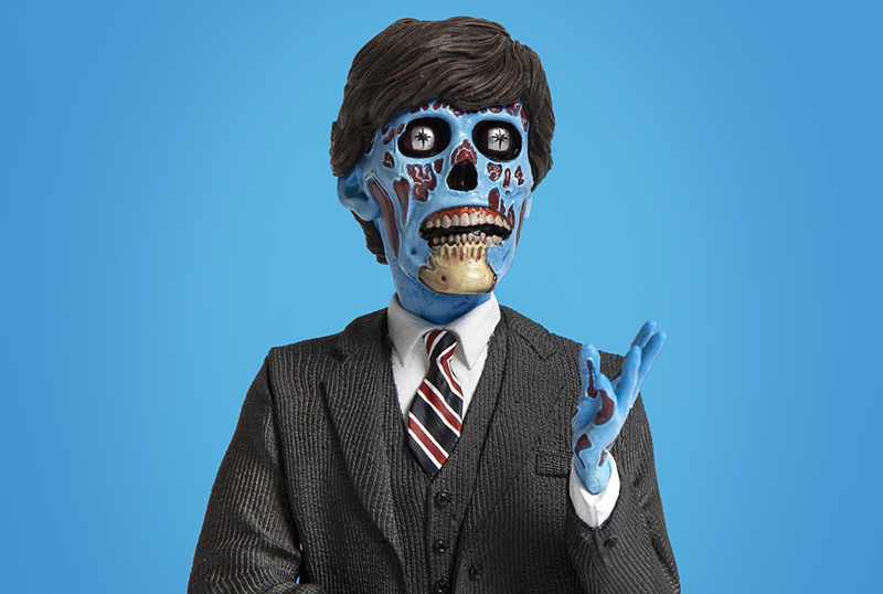 Waxwork Debuts They Live's The Politician Spinature Figure!