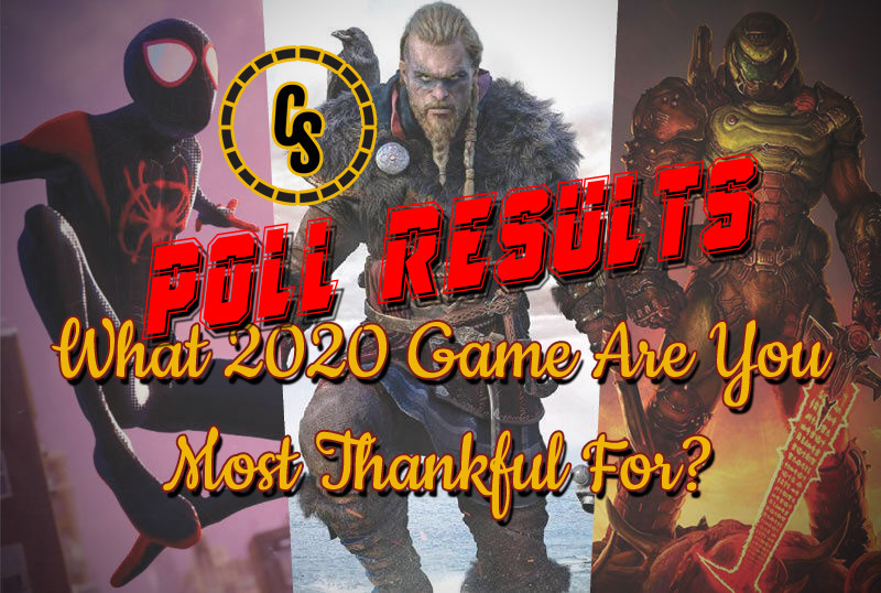 POLL RESULTS: What 2020 Video Game Are You Most Thankful For?