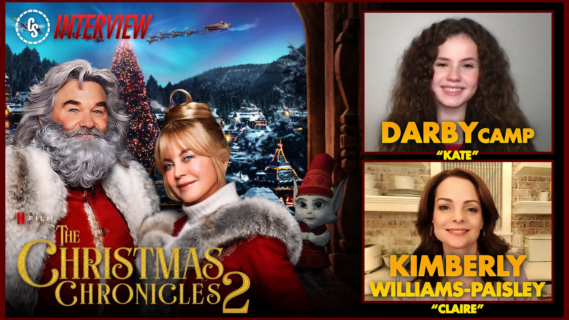 CS Video: The Christmas Chronicles: Part Two Interview With Camp & Williams-Paisley