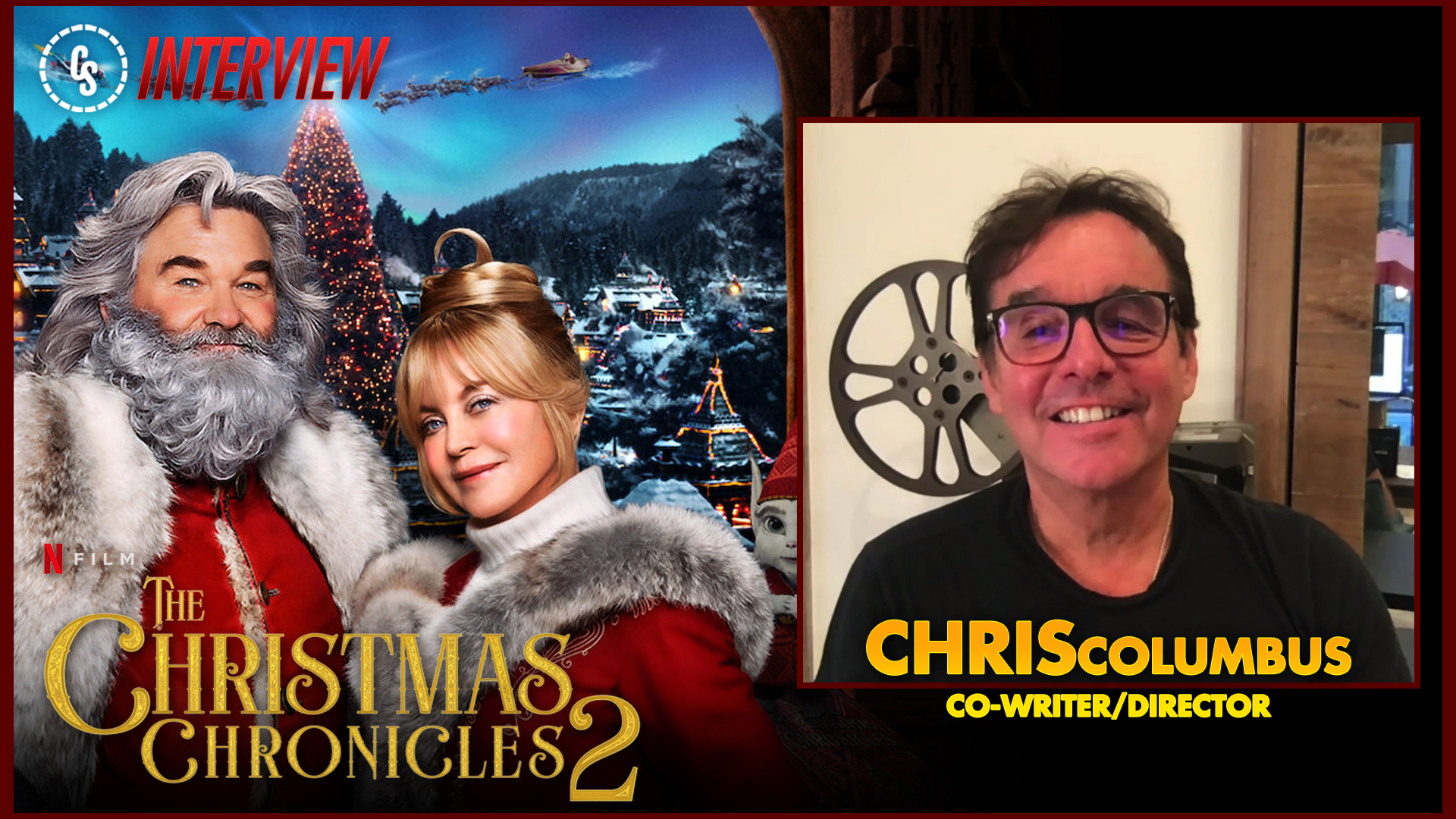 CS Video: The Christmas Chronicles: Part Two Interview With Columbus